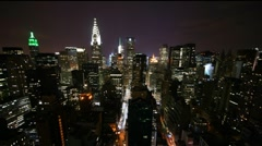 New York View 015 PJPEG 30fps.mov Stock Footage
