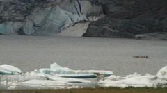 Mendenhall glacier 2011 nugget falls Stock Footage
