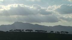 Mediterranean Hillside - Timelapse Stock Footage