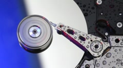 Computer hard drive Stock Footage