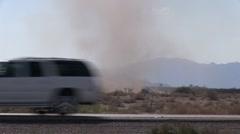 dust devil (HD) c - stock footage