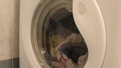 Washing machine Stock Footage