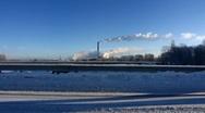 Stock Video Footage of Scandinavia Finland Pori traffic on Charlotta bridge