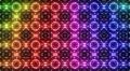 LED Light Kaleidoscope P2BiK1 HD HD Footage