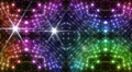 LED Light Kaleidoscope P2BiK4 HD HD Footage