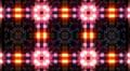 LED Light Kaleidoscope P3BoK2 HD Footage