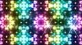 LED Light Kaleidoscope P3BoK7 HD HD Footage