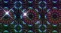 LED Light Kaleidoscope W2BiK3 HD HD Footage