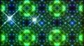 LED Light Kaleidoscope W2BoK2 HD Footage