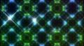 LED Light Kaleidoscope W3BoK2 HD HD Footage