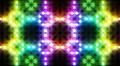 LED Light Kaleidoscope C3BoK1 HD Footage