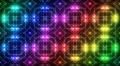 LED Light Kaleidoscope C2BoK3 HD Footage