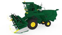 Combine Harvester Niva - 3D model