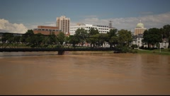 Harrisburg Flooded Stock Footage