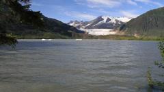 Juneau , Mendenhall glacier Stock Footage