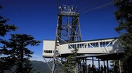 Juneau, sky lift destination Stock Footage