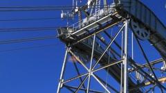 Juneau , sky tram Stock Footage