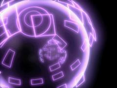 High Speed Spinning Electronic Globe w/ Bursting Energy - VJ Loop - stock footage