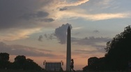Stock Footage - National Mall with Field Hockey Players - Beautiful! Stock Footage