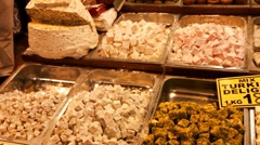 Turkish delight HD 1080p Stock Footage