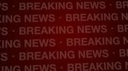 Breaking News Background Red Loop HD Stock Footage