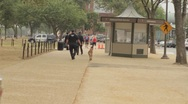 Stock Video Footage of Stock Footage - Washington D.C. SWAT with K-9 - National Mall