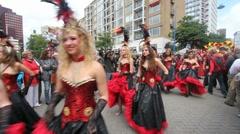 Carnival Parade Stock Footage