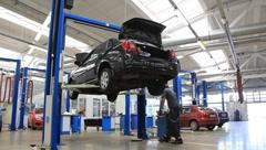 Auto service Stock Footage