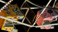 Baskets of the Ferris Wheel Stock Footage