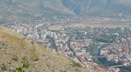 Stock Video Footage of Mostar. Pan