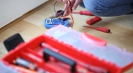 Electrician at work, Full HD Photo JPEG Stock Footage