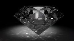 glamorous Diamond gem - stock footage