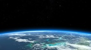 Stock Video Footage of Beautiful Earth -  Panning shot to Florida II.