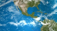 Earth View Day Close Up Stock Footage