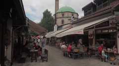 Sarajevo. Street. Stock Footage
