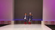 Stock Video Footage of Two little girls in winter clothes from Snowimage Collection