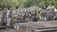 Graveyard Stock Footage