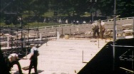 Central Park Stage Bandstand NYC New York City 1960s Vintage Film Home Movie 601 Stock Footage
