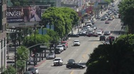 Stock Video Footage of Vine Street in Hollywood 01