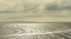 Wadden Sea Stock Footage