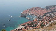 Stock Video Footage of Dubrovnik long-shot