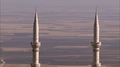 Two mosques Stock Footage