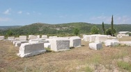 Stock Video Footage of Cemetery. Trebinje