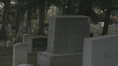 Stock Footage - Arlington Cemetery zoom out Stock Footage