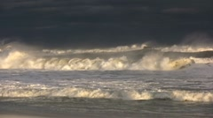Tropical Storm Waves Stock Footage