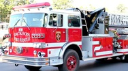Stock Video Footage of Firetruck