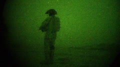 Night Vision of Afghanistan (HD) C - stock footage