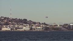Seattle Skyline 4 Stock Footage