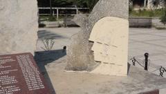 Plaza de España Mostar 5 - stock footage