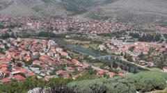 Stock Video Footage of Trebinje long shot 2